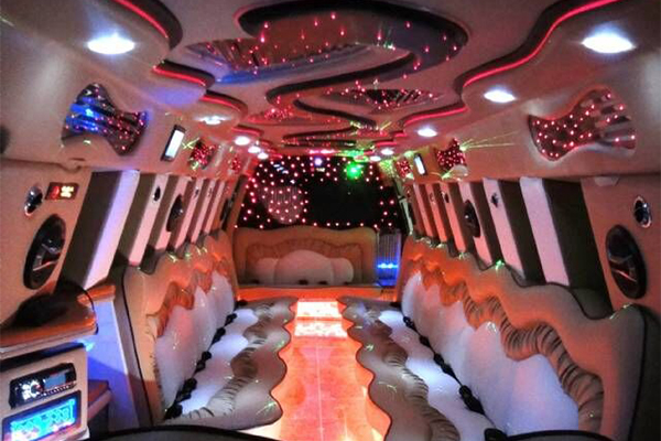 14 Person Escalade Limo Services Miami