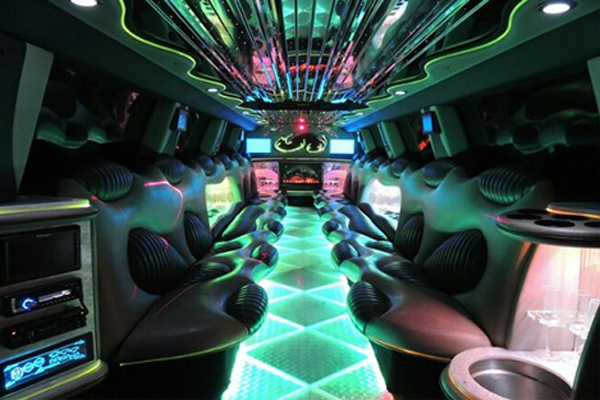14 Person Hummer Limo Rental Miami