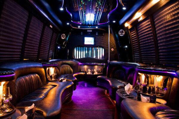 15 Person Party Bus Rental Miami