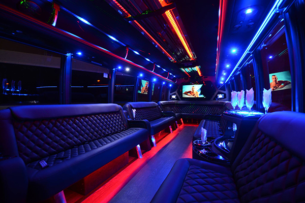 40 Person Party Bus Rental Miami