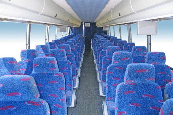 50 Person Charter Bus Rental Miami